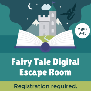 Escape Room - Sept. 30 Fairy Tales Ages 9-15