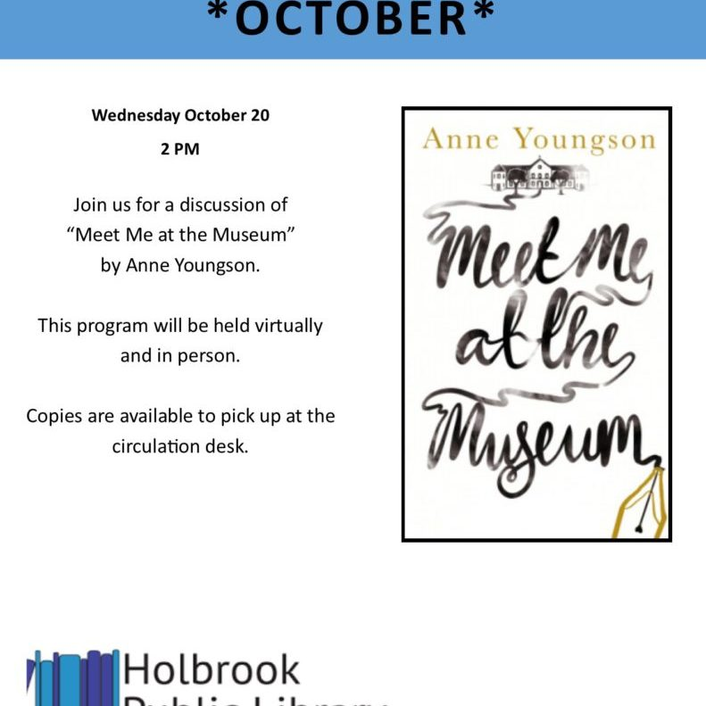 Community Read_Meet Me at the Museum_211020